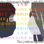 Plakat Romeo&Juliet Lublin Judyta Idzikowska